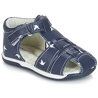 Chaussures Garçon Sandales et Nu-pieds André ORIGAMI Bleu