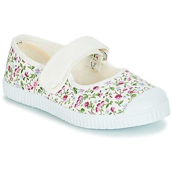 Chaussures Fille Ballerines / babies André BOUQUET Multicouleurs