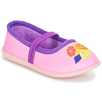 Chaussures Fille Ballerines / babies André CITRONNADE Rose