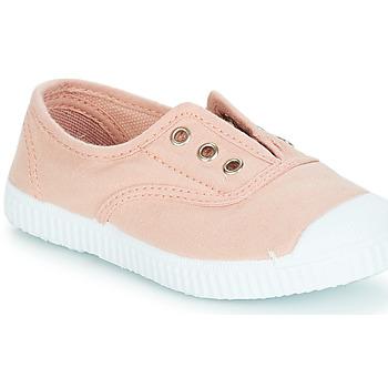 Chaussures Fille Slip ons André LES VACANCES Rose