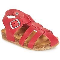 Chaussures Enfant Sandales et Nu-pieds André AVIRON Rouge