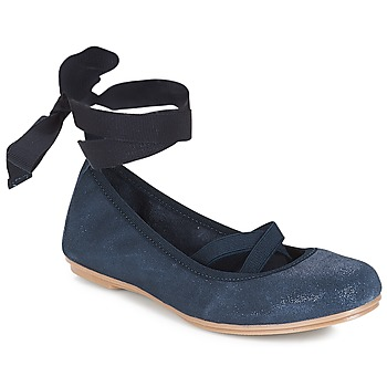 Chaussures Fille Ballerines / babies André ELEANOR Marine