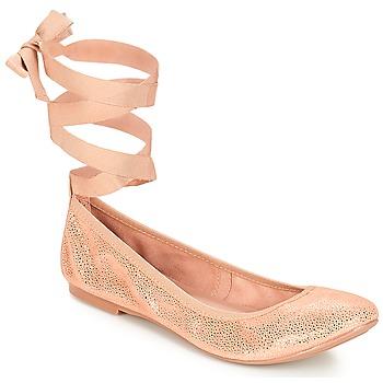Chaussures Femme Ballerines / babies André ACTEE Rose