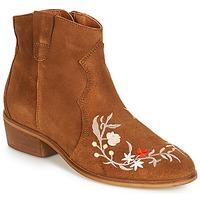 Chaussures Femme Boots André WEST Camel