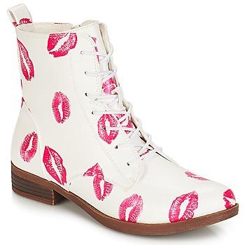 Chaussures Femme Boots André PILAT Blanc