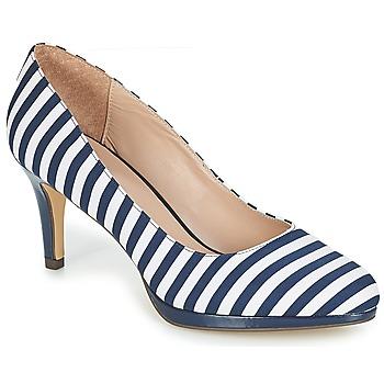 huge discount 4a3ef 8bd89 Chaussures Femme Escarpins André CRYSTAL Raye bleu