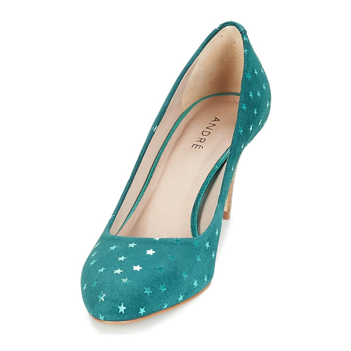 8261c081c8 Femme € TurquoiseLivraison 20 Escarpins André Gratuite 71 Chaussures Betsy  wPXkn08O