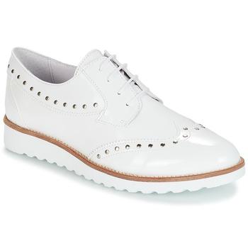 cbb959c552b6a Chaussures Femme Derbies André AMBROISE Blanc