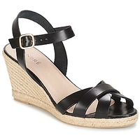 Chaussures Femme Sandales et Nu-pieds André QUIBERON Noir