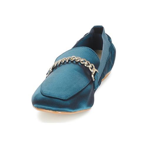 Amulette Bleu Femme Mocassins Chaussures André 3j54LAR