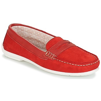 10b958965907 Chaussures Femme Mocassins André FRIOULA Rouge