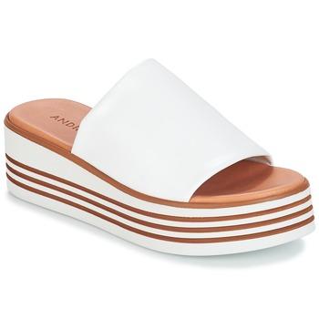 Chaussures Femme Sandales et Nu-pieds André LARRY Blanc