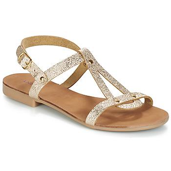 Chaussures Femme Sandales et Nu-pieds André TOUFOU Doré