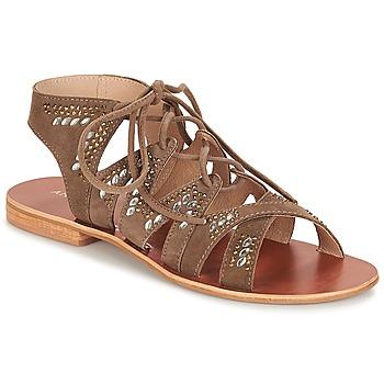Chaussures Femme Sandales et Nu-pieds André MAUPITI GRIS