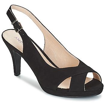 Chaussures Femme Sandales et Nu-pieds André EDWIGE NOIR