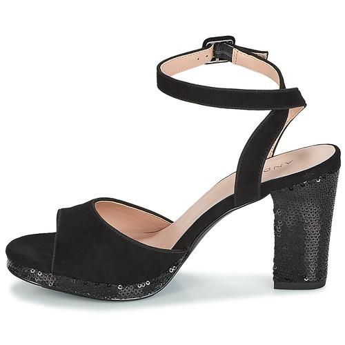 Sandales Et pieds Nu Festive Femme Noir André 5ALq43jR