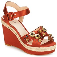 Chaussures Femme Sandales et Nu-pieds André IXIA Ocre