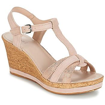Chaussures Femme Sandales et Nu-pieds André ALOE Nude