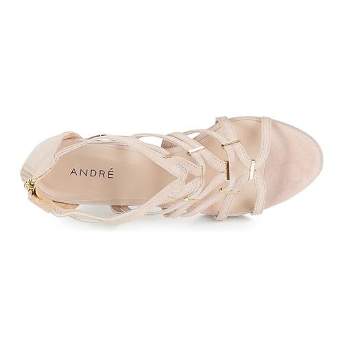 Nude Chaussures Et Salsa Nu Oztkxiupw Sandales André Femme Pieds QrxdtCBsh