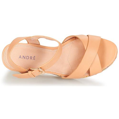 André Femme Antares Sandales Nude Et pieds Nu wOulXZkPiT
