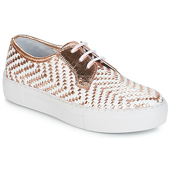 Chaussures Femme Baskets basses André NAT Or