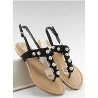 Chaussures Femme Tongs Inello Tongs model 87402 noir