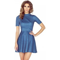 Vêtements Femme Robes courtes Morimia Robe de cocktail model 84820 bleu