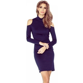Vêtements Femme Robes courtes Morimia Robe de cocktail model 90469 bleu marine