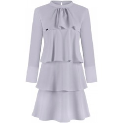 Vêtements Femme Robes courtes Jersa Robe de cocktail model 108516 gris