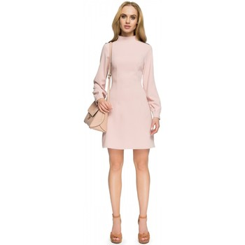 Vêtements Femme Robes courtes Style Robe de cocktail model 112762 rosé