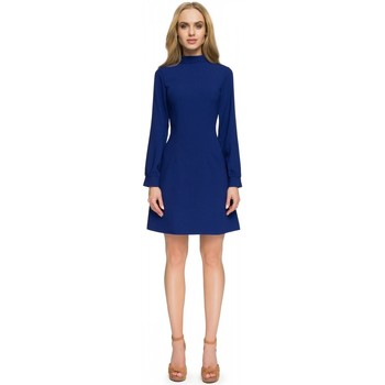 Vêtements Femme Robes courtes Style Robe de cocktail model 112764 bleu