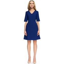Vêtements Femme Robes courtes Style Robe de cocktail model 112780 bleu