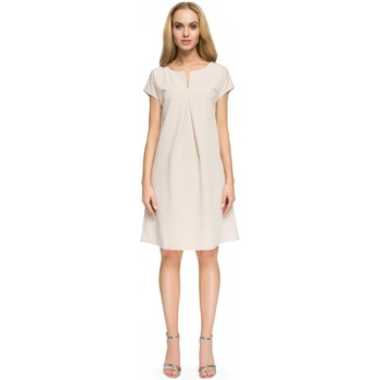 Vêtements Femme Robes courtes Style Robe de cocktail model 112802 beige