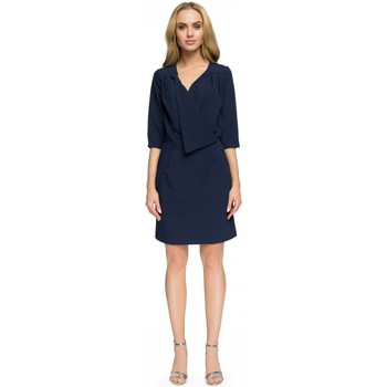Vêtements Femme Robes courtes Style Robe de cocktail model 112805 bleu marine
