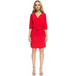 Vêtements Femme Robes courtes Style Robe de cocktail model 112804 rouge