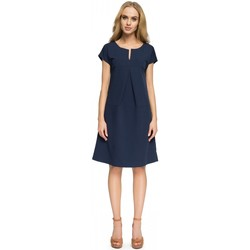 Vêtements Femme Robes courtes Style Robe de cocktail model 112800 bleu marine