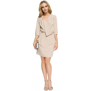 Vêtements Femme Robes courtes Style Robe de cocktail model 112803 beige