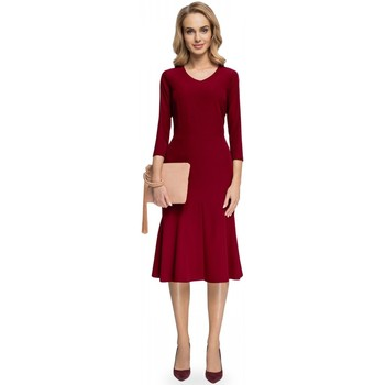 Vêtements Femme Robes longues Style Robe de cocktail model 112569 rouge