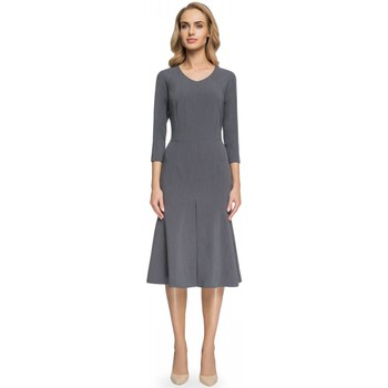 Vêtements Femme Robes longues Style Robe de cocktail model 112571 gris