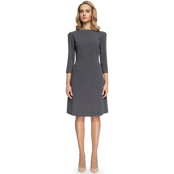 Vêtements Femme Robes courtes Style Robe de cocktail model 112575 gris