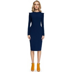 Vêtements Femme Robes courtes Style Robe de cocktail model 112590 bleu marine