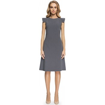Vêtements Femme Robes longues Style Robe de cocktail model 112587 gris