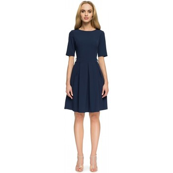 Vêtements Femme Robes courtes Style Robe de cocktail model 112856 bleu marine
