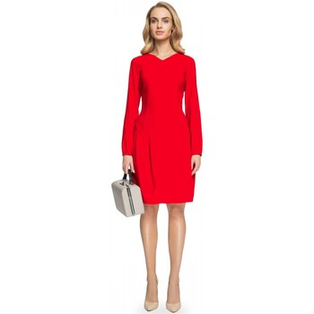 Vêtements Femme Robes longues Style Robe de cocktail model 112597 rouge
