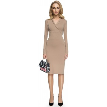 Vêtements Femme Robes longues Style Robe de cocktail model 112611 beige
