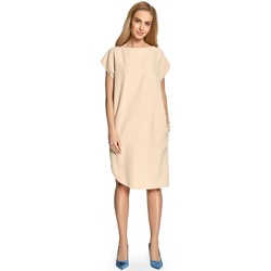 Vêtements Femme Robes longues Style Robe de cocktail model 112866 beige