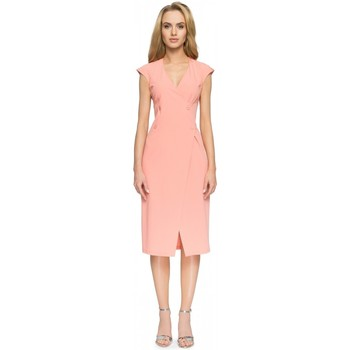 Vêtements Femme Robes longues Style Robe de cocktail model 112622 rosé