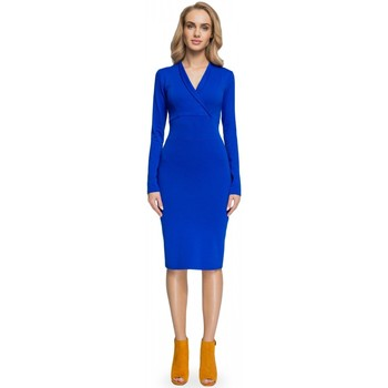 Vêtements Femme Robes longues Style Robe de cocktail model 112609 bleu