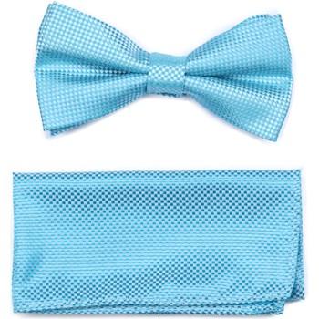 Vêtements Homme Cravates et accessoires Virtuose Papillon Pique + Pochette Bleu