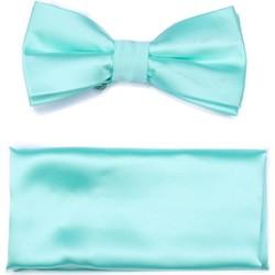 Vêtements Homme Cravates et accessoires Virtuose Papillon Uni + Pochette Vert